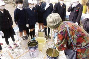 廃油石鹸づくり