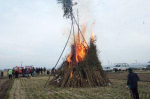 火祭り(どんどや)