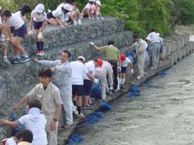 水の浄化作戦